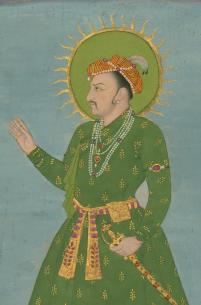 Indian_-_Single_Leaf_of_a_Portrait_of_the_Emperor_Jahangir_-_Walters_W705_-_Detail.jpg